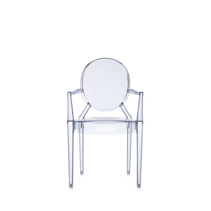 Silla con brazos louis ghost kartell for Sedie design furniture e commerce