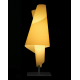 Lámpara pie Alta Costura Metalarte
